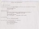 """view Gemeinschaft der Jagdflieger E.V; """"Jägerblatt"""" magazine; correspondence and photographs [1 of 2] digital asset: Jäger Blatt Mölders; Gemeinschaft der Jagdflieger E.V.; correspondence and photographs [1 of 2]"""