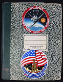 view Ride's STS-7 Shuttle Training Notebook digital asset: Ride's STS-7 Shuttle Training Notebook