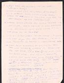 view Miscellaneous Ride Handwritten Speech Notes, (folder 3 of 3) digital asset: Miscellaneous Ride Handwritten Speech Notes, (folder 3 of 3)