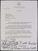 view Correspondence, United States Senators digital asset: Correspondence, United States Senators