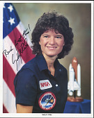 view Photographs, Ride NASA (autographed) digital asset: Photographs, Ride NASA (autographed)