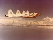 view Photo of T-38s in Flight Formation [Series 2A1] digital asset: Photo of T-38s in Flight Formation [Series 2A1]