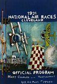 view 1931 National Air Races. Cleveland. Official Program. Mary Charles -- Participant. U.S. Air Pilot #17050 digital asset: 1931 National Air Races. Cleveland. Official Program. Mary Charles -- Participant. U.S. Air Pilot #17050