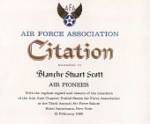 view Citation from Air Force Association digital asset: Citation from Air Force Association