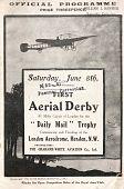 view First Aerial Derby, London Aerodrome, London, England, The Grahame-White Aviation Company, Ltd. digital asset: First Aerial Derby, London Aerodrome, London, England, The Grahame-White Aviation Company, Ltd.