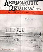 view Aeronautic Review, National Aeronautic Association of the U.S.A., vol. 6, no. 8 digital asset: Aeronautic Review, National Aeronautic Association of the U.S.A., vol. 6, no. 8