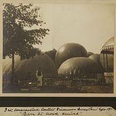 view International balloon races, Vincennes Annex, Paris Exposition digital asset: International balloon races, Vincennes Annex, Paris Exposition