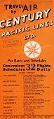 view Century Pacific Air Lines, Ltd., Schedule digital asset: Century Pacific Air Lines, Ltd., Schedule