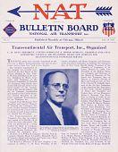 view National Air Transport, Bulletin Board digital asset: National Air Transport, Bulletin Board