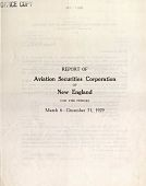 view Annual and Interim Reports, Aviation Securities Corp. of New England digital asset: Annual and Interim Reports, Aviation Securities Corp. of New England