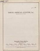 view Circulars (Offering and Special), North American Aviation, Inc. digital asset: Circulars (Offering and Special), North American Aviation, Inc.