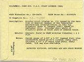 view Aero Club of America, Aviator Pilot License no. 171 digital asset: Aero Club of America, Aviator Pilot License no. 171