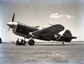 view Curtiss P-40E Warhawk digital asset: Curtiss P-40E Warhawk