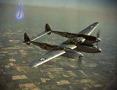 view Lockheed P-38 Lightning digital asset: Lockheed P-38 Lightning