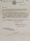 view Correspondence with U.S. Army Signal Corps digital asset: Correspondence with U.S. Army Signal Corps