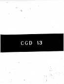 view CGD-13 : Investigations Concerning the Critical State digital asset: CGD-13 : Investigations Concerning the Critical State