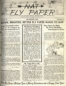 """view National Air Transport (NAT) """"Fly Paper"""" digital asset: National Air Transport (NAT) """"Fly Paper"""""""