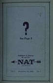 "view Lester D. Seymour Collection digital asset: National Air Transport (NAT) ""Fly Paper"""