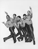 "view ""Suite Otis"": Five male dancers digital asset: ""Suite Otis"": Five male dancers"