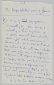 """view """"The Negro Writer's Vision of America,"""" additional handwritten notes digital asset: """"The Negro Writer's Vision of America,"""" additional handwritten notes"""