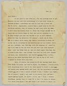 view Letter to Paula Baldwin from James Baldwin digital asset: Letter to Paula Baldwin from James Baldwin