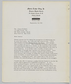view Letter from Dr. Martin L. King to James Baldwin with related clippings about Nobody Knows My Name digital asset: Letter from Dr. Martin L. King to James Baldwin with related clippings about Nobody Knows My Name
