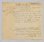 view Historical Records of the DeWolf Family digital asset: Sugar Manifest for ship from Havana, Cuba to Philadelphia, PA