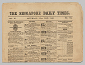 view The Singapore Daily Times Vol. III No. 725 digital asset: The Singapore Daily Times Vol. III No. 725
