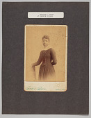 view Photograph of Matilda A. Evans at Oberlin College digital asset: Photograph of Matilda A. Evans at Oberlin College