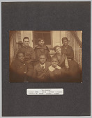 "view The Family (rear) John - Artie - Myrtle - Jessie (front) DR. Evans - Dozier - Sidney digital asset: The Family (rear) John - Artie - Myrtle - Jessie (front) DR. Evans - Dozier - Sidney"""