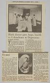 "view ""Matilda Arabella Evans (1872-1935) Black Doctor gave hope, health to Columbians in Depression"" digital asset: ""Matilda Arabella Evans (1872-1935) Black Doctor gave hope, health to Columbians in Depression"""