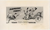 view Photographs of Texaco advertisements digital asset: Photographs of Texaco advertisements