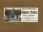 view Warshaw Collection of Business Americana Subject Categories: Building and Construction digital asset: Walsh Brothers, Albany, New York