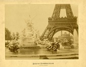 view Exposition Universelle de 1889 [Paris] / 92. Fontaine monumentale [silver albumen photoprint,] digital asset: Exposition Universelle de 1889 [Paris] / 92. Fontaine monumentale [silver albumen photoprint,]