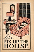 view Let's Fix Up the House [pamphlet] digital asset: Let's Fix Up the House [pamphlet]