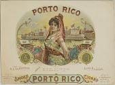 view Smoke Porto Rico Cigars [lithograph] digital asset: Smoke Porto Rico Cigars [lithograph]