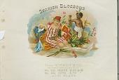 view Spanish Blossoms [cigar box label: lithograph] digital asset: Spanish Blossoms [cigar box label: lithograph]