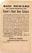 view Buy / Raser's / Root / Beer Extract. [Trade card.] digital asset: Buy / Raser's / Root / Beer Extract. [Trade card.]