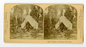 view Camps and camping : stereographs digital asset: Camps and camping : stereographs