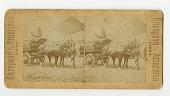 view Wagons, horse-drawn : stereographs digital asset: Wagons, horse-drawn : stereographs