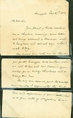 view Washington Irving Letter digital asset: Washington Irving Letter