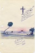 view George W. Sims Papers digital asset: Travel notes and sketches, Baja California, Old Mexico,