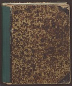 view William Steinway Diary, Volume One digital asset: Volume 1:  1861 April 20 - 1869 May 31