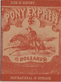 """view """"The Pony Express Story,"""" REA Public Relations & Adv. Division digital asset: """"The Pony Express Story,"""" REA Public Relations & Adv. Division"""