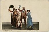 view Cake Walk,[sic], number three, picture postcard digital asset: Cake Walk (Negro Dance) [sic], No. 3 [picture postcard]