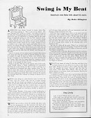 """view """"Swing Is My Beat,"""" by Duke Ellington, in Spotlight, October, 1944 digital asset: """"Swing Is My Beat,"""" by Duke Ellington, in Spotlight, October, 1944"""