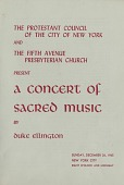 view Fifth Avenue Presbyterian Church, New York, New York, 1965 December 26(December 5, 1965-January 7, 1966) digital asset: Fifth Avenue Presbyterian Church, New York, New York, 1965 December 26(December 5, 1965-January 7, 1966)