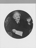 view Scientists and Inventors Portrait File: photoprints digital asset: Einstein, Albert (1879-1955), theoretical physicist
