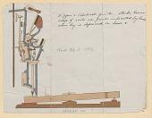 view Piano Action Drawings, ca. 1906 (2 items) digital asset: Piano Action Drawings, ca. 1906 (2 items)