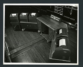 view (4) AA 955 Operator's Table and Printers digital asset: (4) AA 955 Operator's Table and Printers